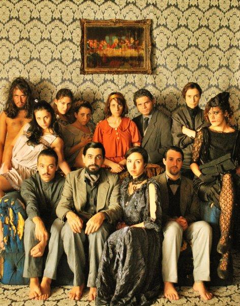 Elenco da montagem de Album de Família com direção de Jorge Farjalla, estreada em Julho de 2008 no Rio de Janeiro