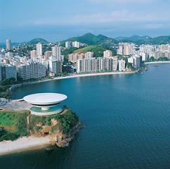Praia de Icaraí, em Niterói, estado do Rio.